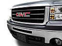 2011 GMC Sierra 1500 SLE, close up of grill.