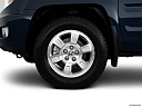 2011 Honda Ridgeline RTS, front drivers side wheel at profile.