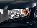 2011 Honda Ridgeline RTS, drivers side headlight.