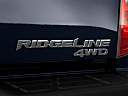 2011 Honda Ridgeline RTS, rear model badge/emblem