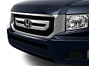2011 Honda Ridgeline RTS, close up of grill.