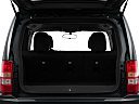 2011 Jeep Liberty Sport, trunk open.