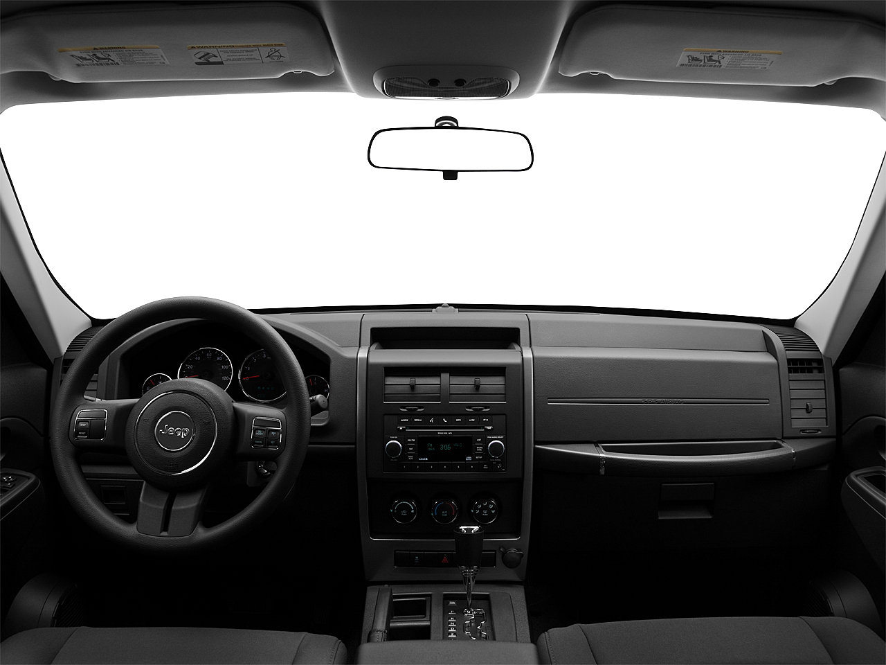 2011 Jeep Liberty Sport, centered wide dash shot