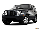 2011 Jeep Liberty Sport, front angle view, low wide perspective.
