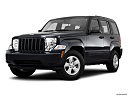 2011 Jeep Liberty Sport, front angle medium view.