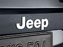 2011 Jeep Liberty Sport, rear manufacture badge/emblem