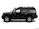 2011 Nissan Xterra S, driver's side profile with drivers side door open.