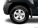 2011 Nissan Xterra S, front drivers side wheel at profile.