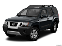 2011 Nissan Xterra S, front angle view.