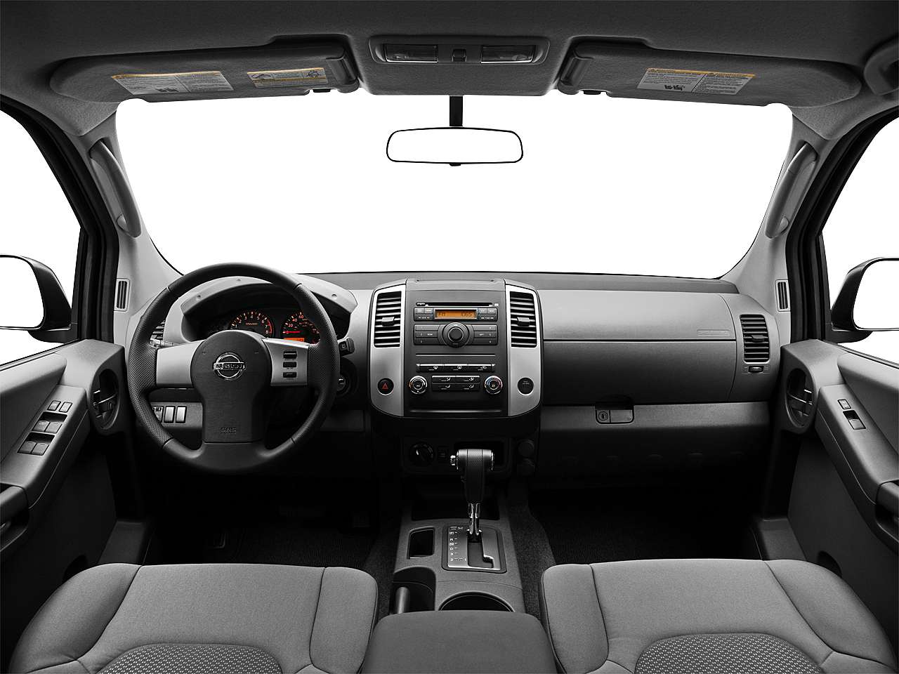 2011 Nissan Xterra S, centered wide dash shot