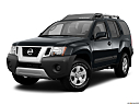 2011 Nissan Xterra S, front angle medium view.