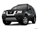 2011 Nissan Xterra S, front angle view, low wide perspective.