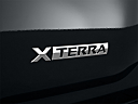 2011 Nissan Xterra S, rear model badge/emblem