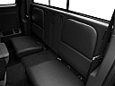 2011 Ram Trucks Dakota Big Horn, rear seats from drivers side.