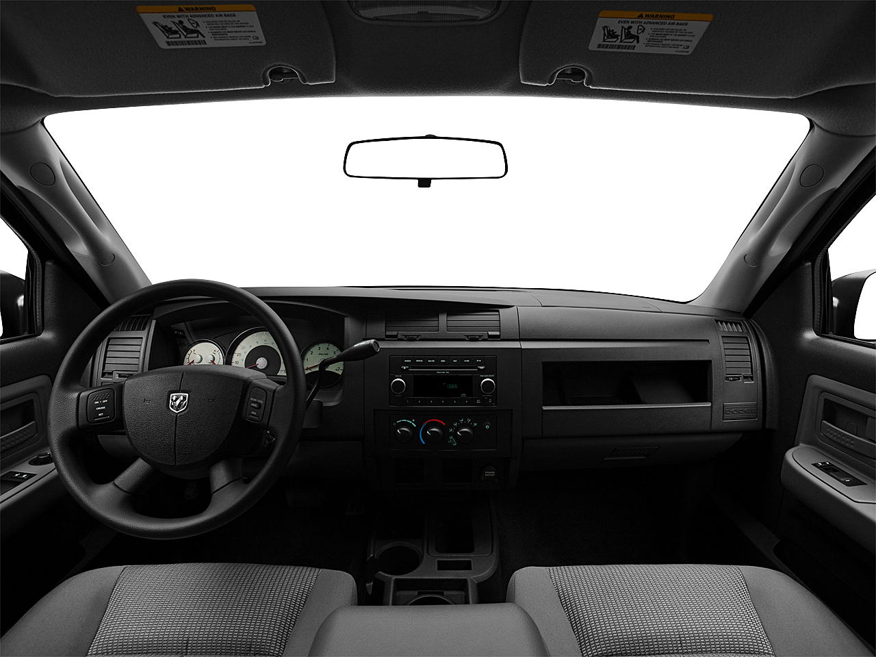 2011 Ram Trucks Dakota Big Horn, centered wide dash shot
