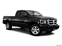 2011 Ram Trucks Dakota Big Horn, front passenger 3/4 w/ wheels turned.