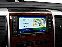 2011 Ram Trucks Ram 1500 Laramie, driver position view of navigation system.