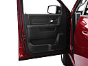 2011 Ram Trucks Ram 1500 Sport Quad, inside of driver's side open door, window open.