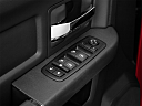 2011 Ram Trucks Ram 1500 Sport Quad, driver's side inside window controls.