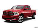 2011 Ram Trucks Ram 1500 Sport Quad, front angle medium view.