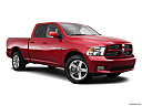 2011 Ram Trucks Ram 1500 Sport Quad, front passenger 3/4 w/ wheels turned.
