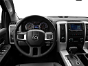 2011 Ram Trucks Ram 1500 Sport Quad, steering wheel/center console.