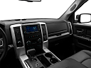 2011 Ram Trucks Ram 1500 Sport Quad, center console/passenger side.