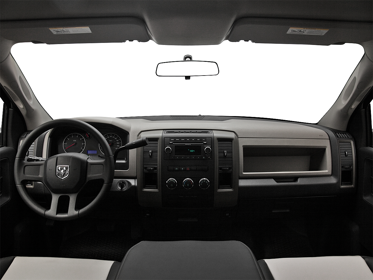 2011 Ram Trucks Ram 1500 ST, centered wide dash shot