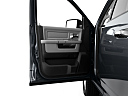 2011 Ram Trucks Ram 1500 SLT, inside of driver's side open door, window open.