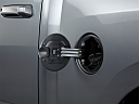2011 Ram Trucks Ram 1500 SLT, gas cap open.