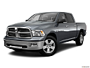 2011 Ram Trucks Ram 1500 SLT, front angle medium view.