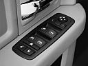 2011 Ram Trucks Ram 1500 SLT Quad, driver's side inside window controls.
