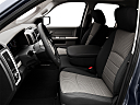 2011 Ram Trucks Ram 1500 SLT Quad, front seats from drivers side.