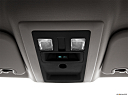 2011 Ram Trucks Ram 1500 SLT Quad, courtesy lamps/ceiling controls.