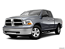 2011 Ram Trucks Ram 1500 SLT Quad, front angle medium view.