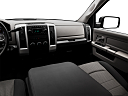 2011 Ram Trucks Ram 1500 SLT Quad, center console/passenger side.