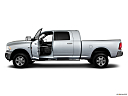 2011 Ram Trucks Ram 2500 Laramie Mega Cab, driver's side profile with drivers side door open.