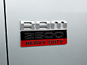 2011 Ram Trucks Ram 2500 Laramie Mega Cab, rear model badge/emblem