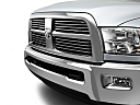 2011 Ram Trucks Ram 2500 Laramie Mega Cab, close up of grill.