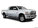2011 Ram Trucks Ram 2500 Laramie Mega Cab, front passenger 3/4 w/ wheels turned.
