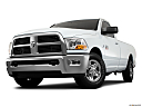 2011 Ram Trucks Ram 2500 SLT, front angle view, low wide perspective.