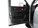 2011 Ram Trucks Ram 2500 Laramie, inside of driver's side open door, window open.