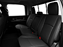 2011 Ram Trucks Ram 2500 Laramie, rear seats from drivers side.