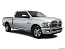 2011 Ram Trucks Ram 2500 Laramie, front passenger 3/4 w/ wheels turned.