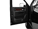 2011 Ram Trucks Ram 3500 DRW Laramie, inside of driver's side open door, window open.
