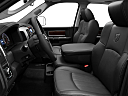 2011 Ram Trucks Ram 3500 DRW Laramie, front seats from drivers side.