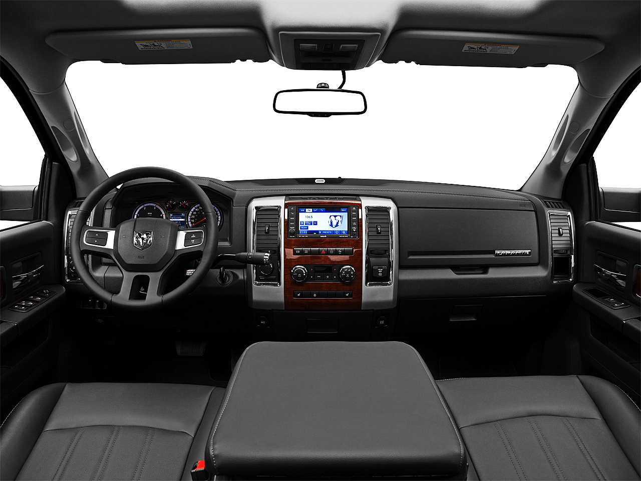 2011 Ram Trucks Ram 3500 DRW Laramie, centered wide dash shot