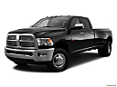 2011 Ram Trucks Ram 3500 DRW Laramie, front angle medium view.