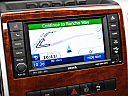 2011 Ram Trucks Ram 3500 DRW Laramie, driver position view of navigation system.