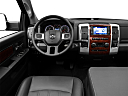 2011 Ram Trucks Ram 3500 DRW Laramie, steering wheel/center console.